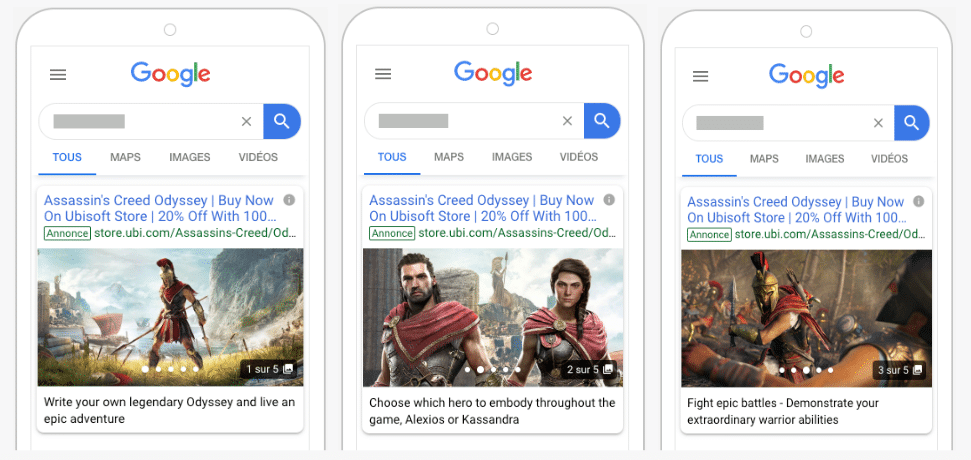 google ad gallery- one of the digital marketing trends